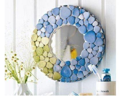 Декор зеркало ванна