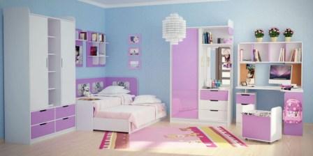 Фото детских комнат для двух девочек