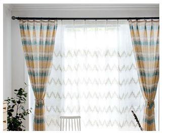 Готовые шторы тюль для гостиной