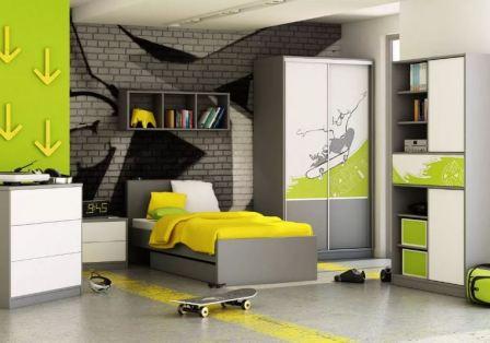 Молодежные интерьеры квартир
