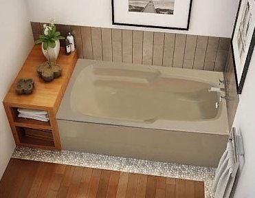 Экран под ванной раздвижной