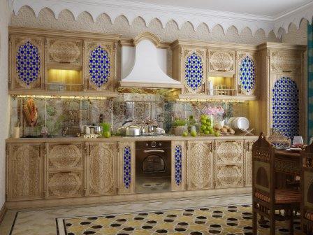 Кухня в арабском стиле: дизайн