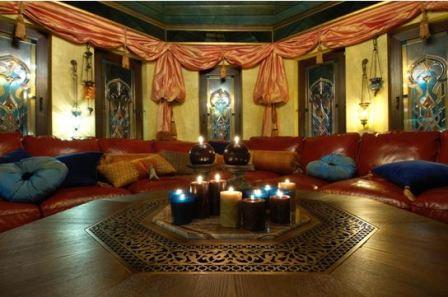 Комната в арабском стиле