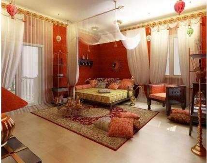 Комната в арабском стиле: фото
