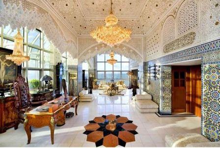 Дизайн интерьера арабском стиле