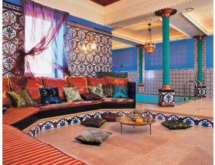 Арабский стиль в интерьере квартиры