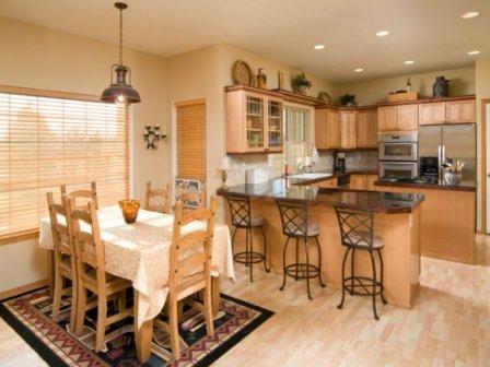 Современный интерьер кухни фото