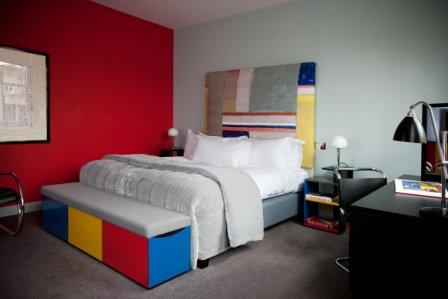Квартира в стиле баухауз
