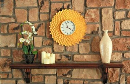 Часы настенные оригинальные для гостиной