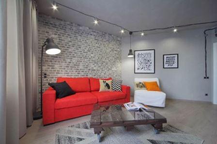 Стиль лофт в интерьере квартиры: фото