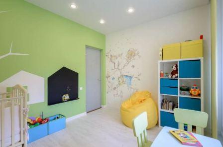 Интерьер детской комнаты: мебель