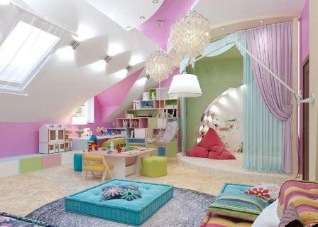 Детская комната: дизайн интерьера фото