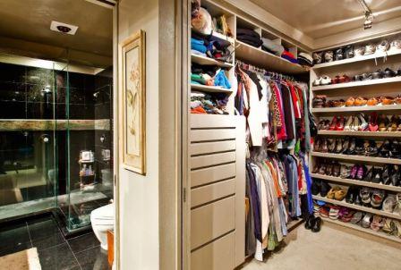 Гардеробная комната: дизайн и фото