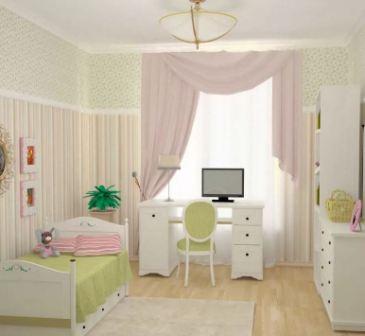 Современная комната для девушки