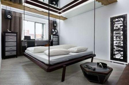 Разместить кровать в однокомнатной квартире