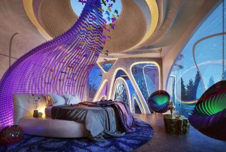 Квартира в стиле бионика