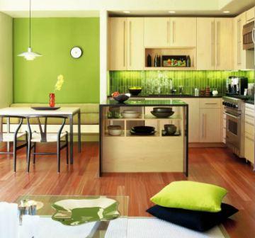 Какого цвета кухня по фен шуй