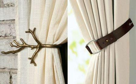 Повесить на окна тюль