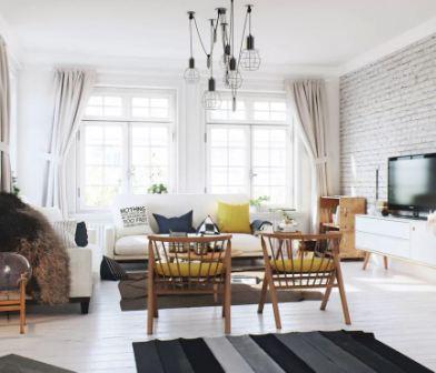 Дом в скандинавском стиле
