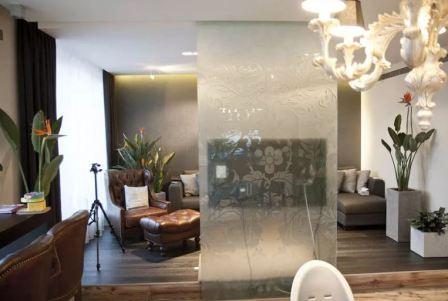 Интерьер со стеклом фото