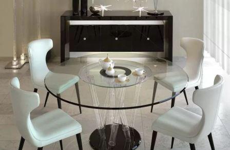 Мебель: столы стеклянные