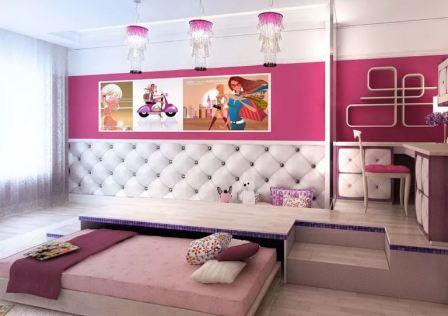 Комната с подиумом дизайн