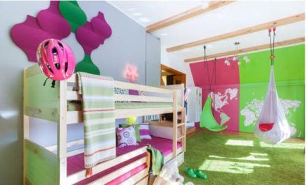Дизайн детской комнаты для двойняшек