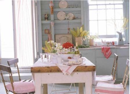 Кухня прованс фото в интерьере