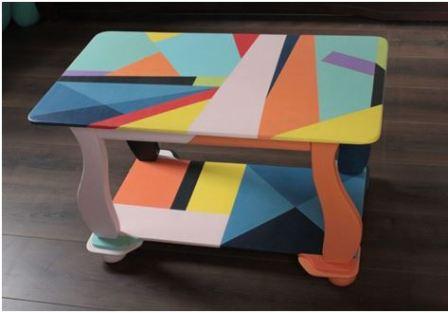 Перекрасить мебель в другой