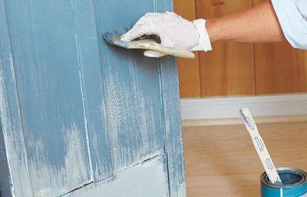 Перекрасить мебель в другой цвет