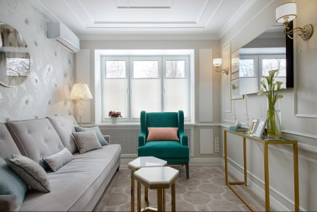 Фотообои увеличивающие пространство для маленькой комнаты
