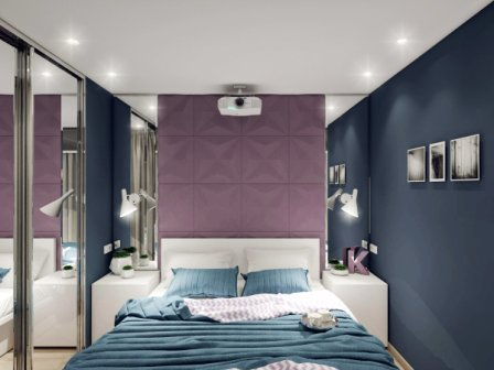 Как увеличить маленькую комнату фото