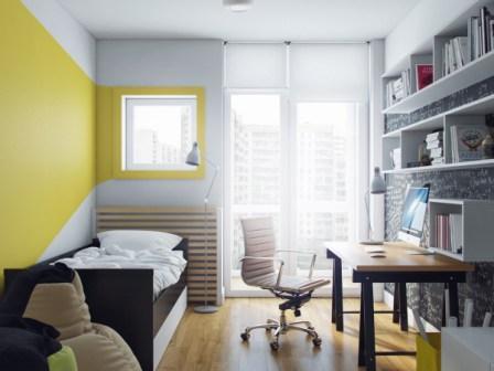 Каким цветом увеличить маленькую комнату