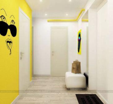 Квартира в стиле авангард