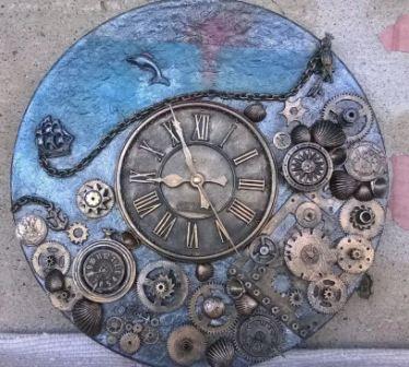 Стимпанк часы своими руками