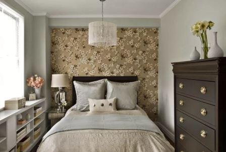 Интерьер спальни фото маленькая комната