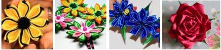 Цветы из ткани своими руками мастер класс