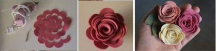 Цветы искусственные ткань