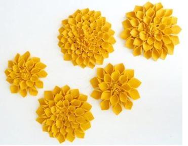 Как сшить цветы из ткани