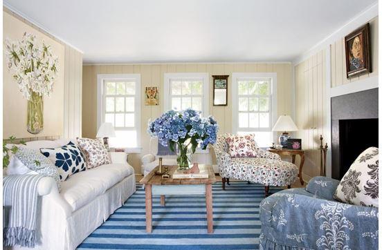 Интерьер комнаты морской стиль