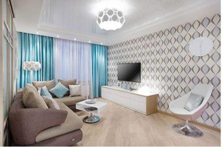 Как увеличить пространство в маленькой комнате