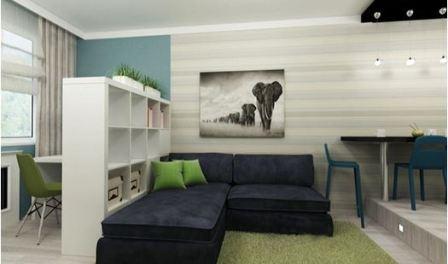 Как расширить пространство в маленькой комнате