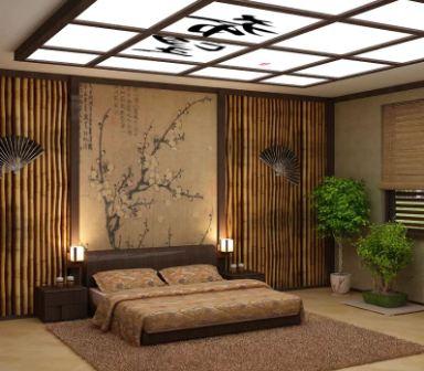 Инерьер в японском стиле: фото