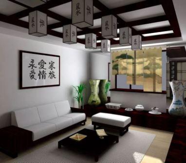 Дизайн интерьера в японском стиле