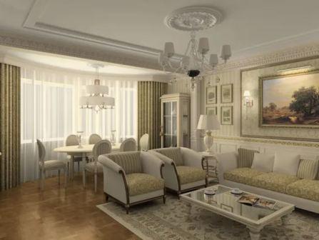 Квартира студия: дизайн интерьера, фото