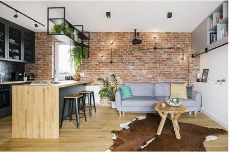 Квартира студия фото интерьер и планировка