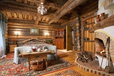 Дом в русском стиле: интерьер