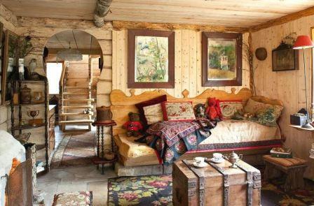 Русский стиль в интерьере квартиры
