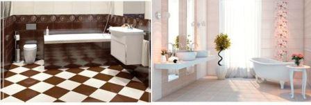 Какую плитку на пол в ванной