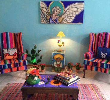 Комната в мексиканском стиле